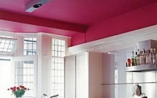 Побелка или покраска потолка что лучше?